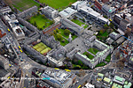 Trinity college from the air
