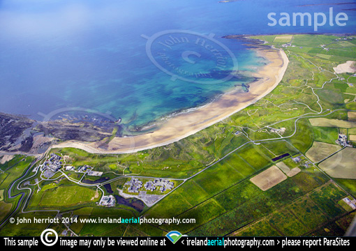 donald trump doonbeg ireland aerial photo of resort