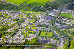 Blarney town centre aerial photo