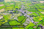 Cloughjordan from the air, Co Tipperary