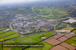 Ballincollig aerial town close to Cork