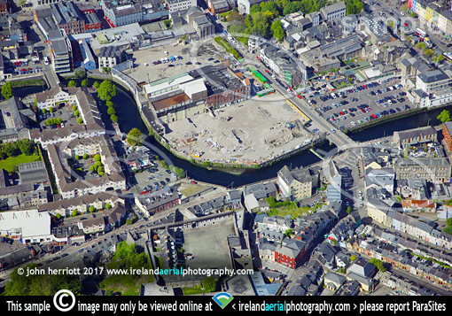 Beamish site for Cork Events Centre aerial photo