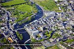 Carlow town Co Carlow close up