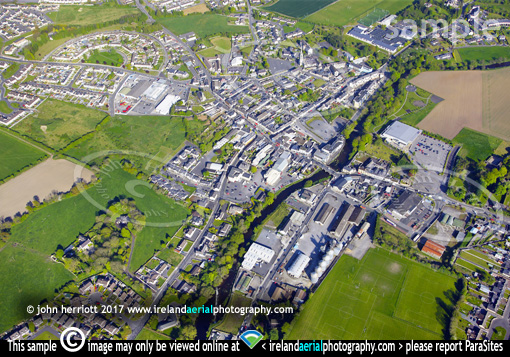 Tullow, Co Carlow aerial