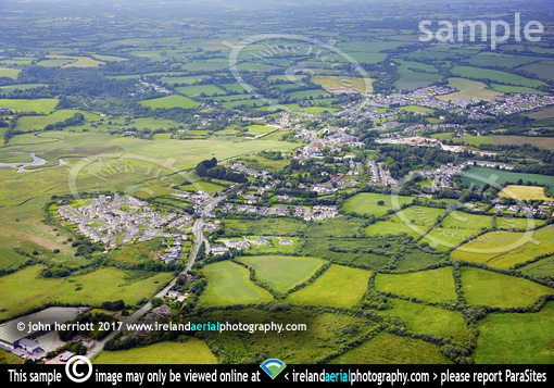 Castlebridge, Co Wexford aerial