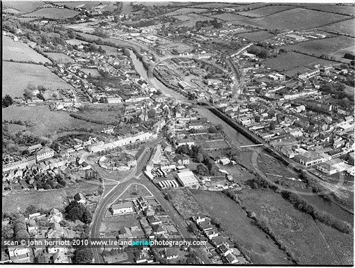 Bandon aerial from 80's