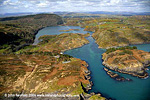 Lough Hyne aerial view