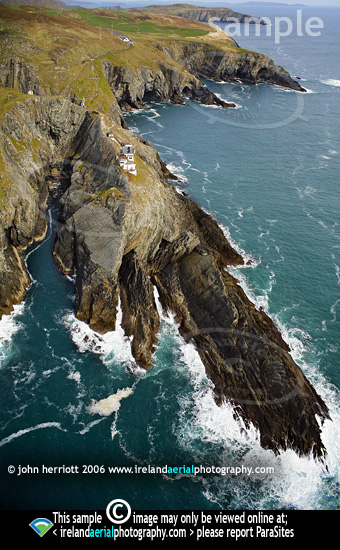 Mizen Head and Brow Head aerial