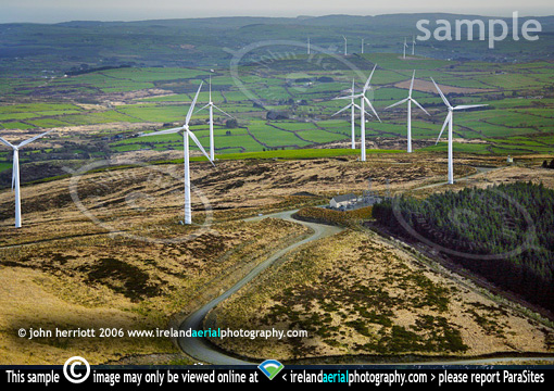 wind turbines near Dunmanway