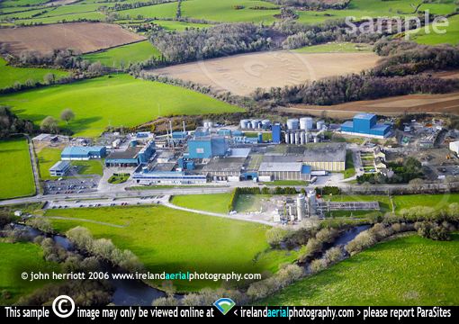 Aerial Carbery Milk Products, Ballineen