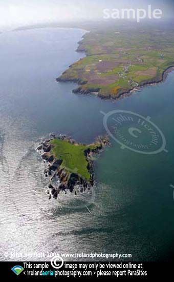 Capel Island and Knockadoon Head Aerial
