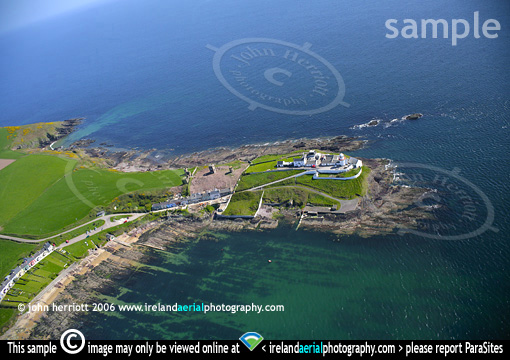 Roches Point Lighthouse aerial image