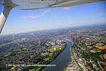 river Lee from a Cessna