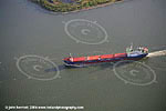 Kanin - aerial view of ship