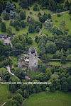 Aerial photo, Blarney Castle