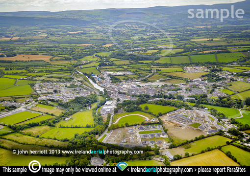 Aerial photography of Kanturk