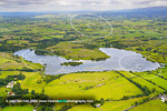 Aerial photo; Lough Gur