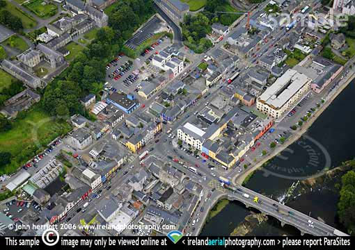 Fermoy aerial close up