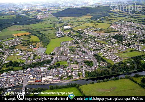 N8 at Fermoy and new bypass aerial view