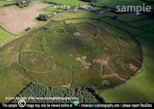 Cashel Hill Fort Bronze Age settlement