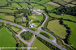 Roads at Ballinhassig aerial perspective