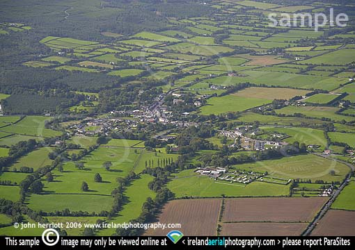 Clogheen aerial photo