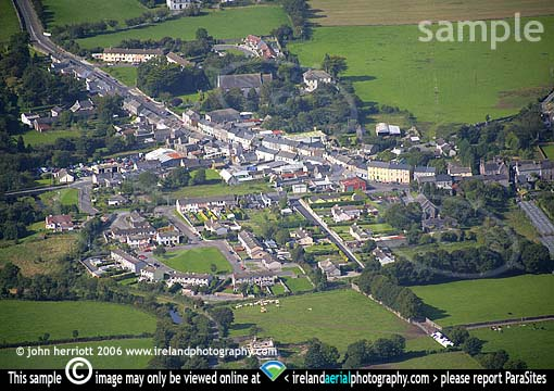 Aerial photograph of Clogheen