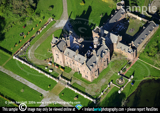 Castle Oliver, Kilfinane aerial photo