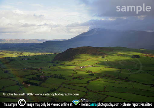 Glen of Aherlow aerial photography