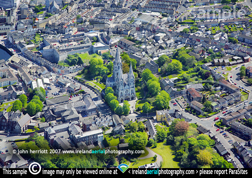 Above St. Finbarr's Cathedral, Cork