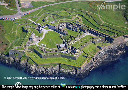 Charles Fort, Kinsale , aerial photo