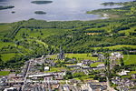 Killarney town and Lough Leane