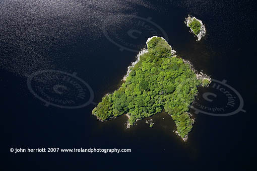 Cow Island and Yew island, Lough Leane, Killarney