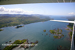 Cessna over Kenmare Bay