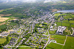 Clonakilty aerial photo of Tidy towns winner 1999