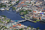 Sarsfields Bridge, Limerick. Aerial