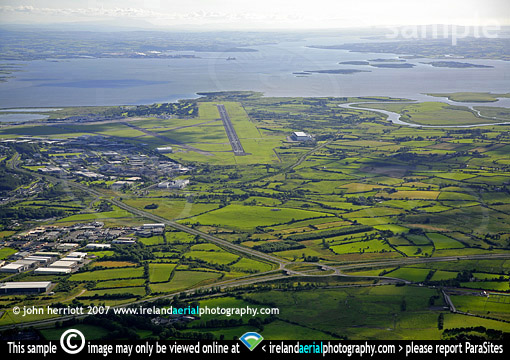 Runway Shannon airport