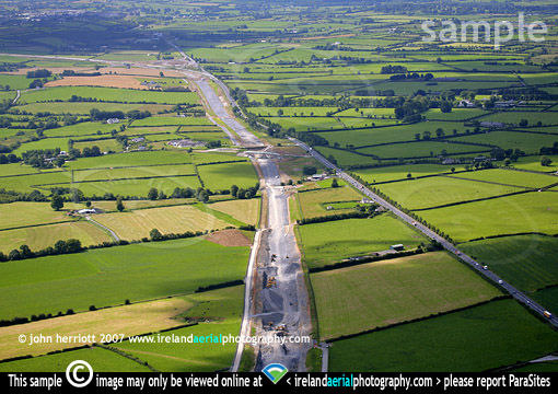 N8 new road construction Cashel