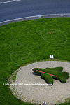 Topiary Cork airport; Jet on roundabout