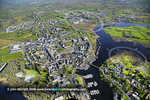 Carrick-on-Shannon aerial photo