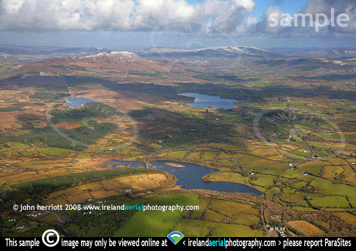 aerial photography view to Benbo