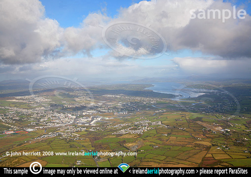 Lough Swilly aerial view