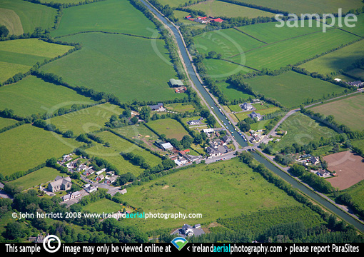 Vicarstown Co Laois photographed from the air