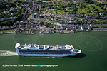Grand Princess at Cobh