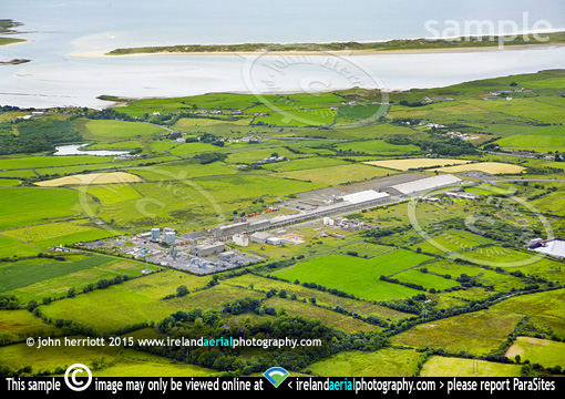 Killala Bay Veolia biomass plant on old Asahi site
