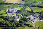Roscrea Cistercian Abbey - aerial photo