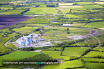 Edenderry power plant aerial photo