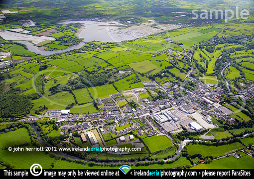 Macroom town and Gearagh