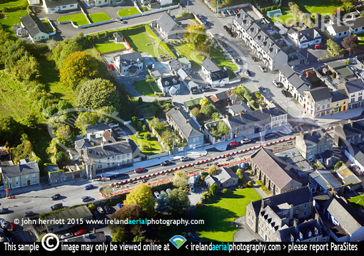 Aerial archaeology dig at Buttevant Main Street