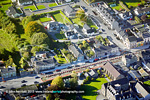 Archaeology dig at Buttevant aerial photo